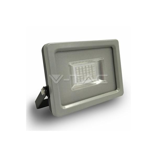 20W LED Прожектор SMD черно/Сиво Тяло Син