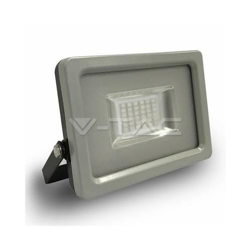 20W LED Прожектор SMD черно/Сиво Тяло Зелен