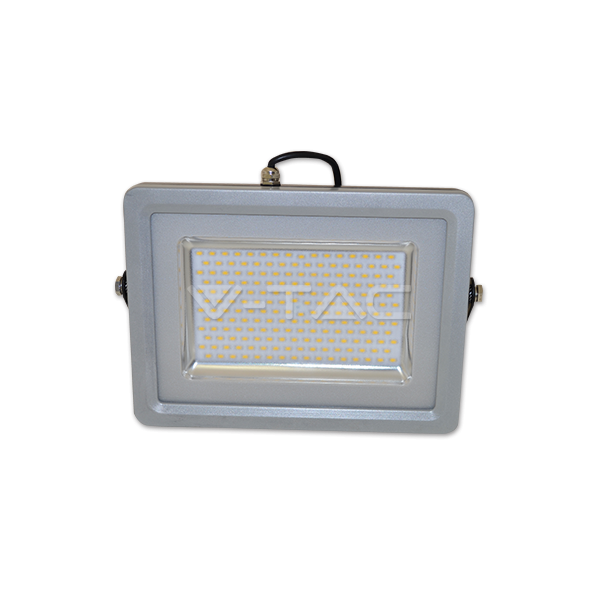 100W LED Прожектор SMD черно/Сиво Тяло