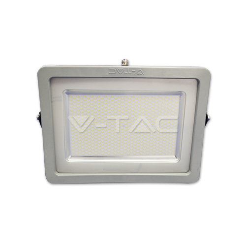 300W LED Прожектор SMD черно/Сиво Тяло Бяла Светлина