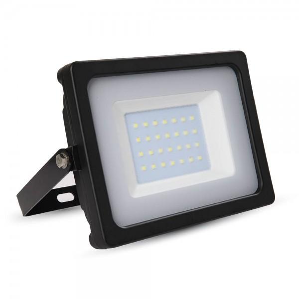 30W LED Прожектор SMD Черно Тяло