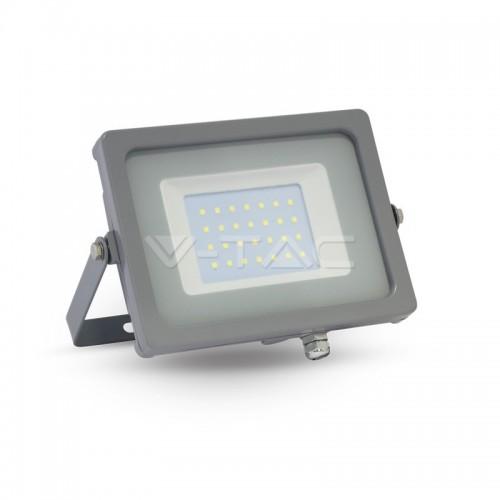 30W LED Прожектор SMD Сиво Тяло