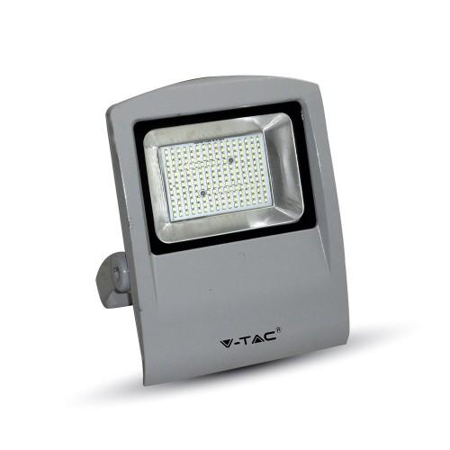 100W LED Прожектор SMD Сиво Тяло