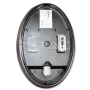 12W LED Полуовално Тяло Външен Монтаж черно Тяло IP66 Неутрално Бяла Светлина