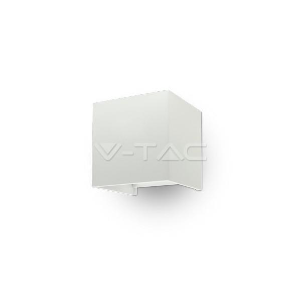 6W Аплик Бяло Тяло Квадрат IP65