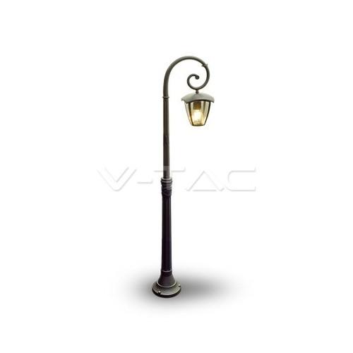 Градиснки Лампа 1ХE27 1365мм Черен IP44