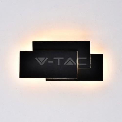 12W LED Стенна Лампа Черно Тяло IP20