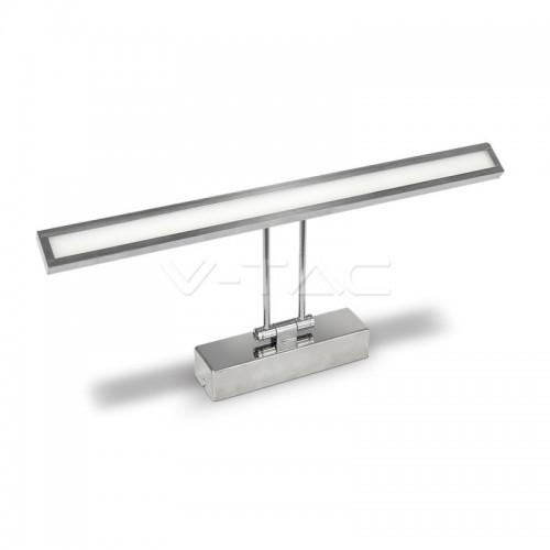 8W LED Лампа За Картина Подвижна Хром 4000К