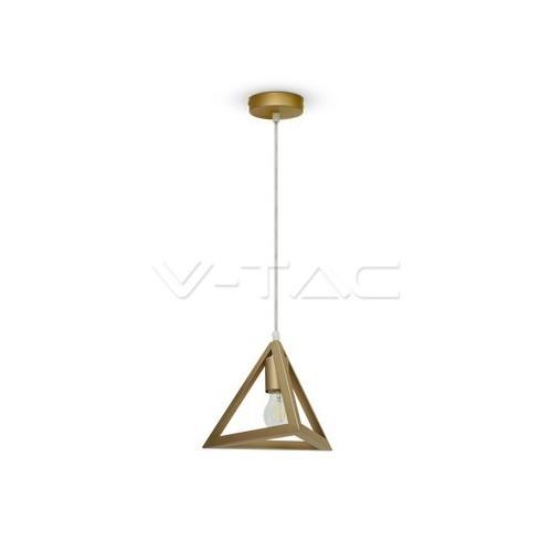 Геометричен Пендел Пирамида Златно Шампанско
