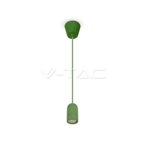Бетонен Пендел Светло Зелен