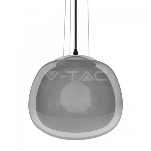 Пендел Стъклен Modern Никел 3 Окачвача ф290