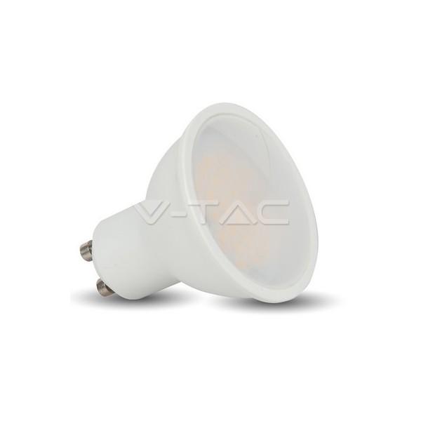 LED Крушка - 5W GU10 SMD Пластик 320Lm 110°