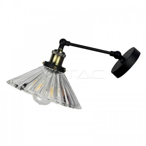 Стенна Лампа Прозрачно Стъкло W/V ф180