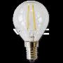 LED Крушка - 2W Filament E14 P45 Топло Бяла Светлина