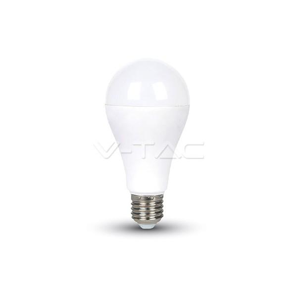 LED Крушка - 14W E27 A65 Термо Пластик Неутрално Бяла Светлина