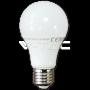 LED Крушка - 10W E27 A60 Термо Пластик Топло Бяла Светлина Димируема