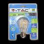 LED Крушка - 6W Filament E27 A60 Топло Бяла Светлина Блистер
