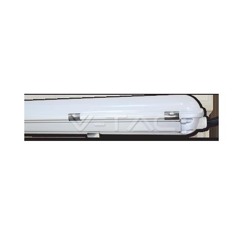 LED Влагозащитено тяло PC/PC 1500mm 50W Бяла Светлина