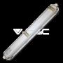 LED Влагозащитено тяло PC/AL 600mm 40W Бяла Светлина