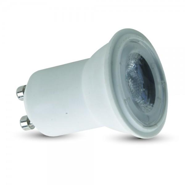 LED Крушка - 2W GU10 ф30 220V Пластик