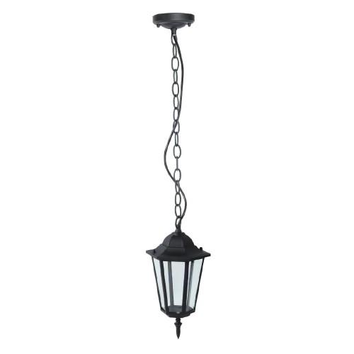 Градинска Висяща Лампа E27 Мат Черен