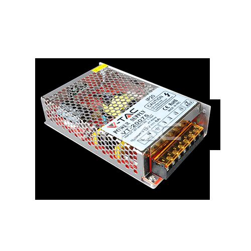 LED Захранване - 75W 12V 6A Метал