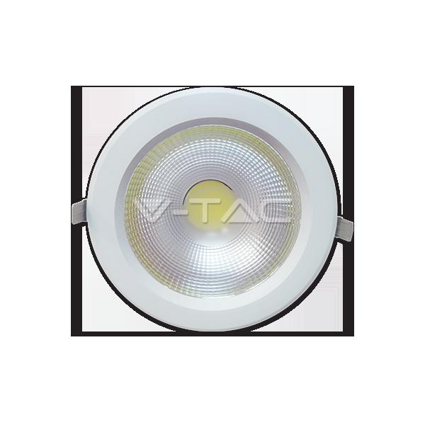 5W LED Луна COB Кръгъл Модул - Бяло Тяло Топло Бяла Светлина