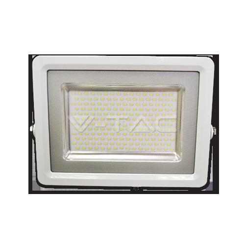 100W LED Прожектор SMD Бяло Тяло Бяла Светлина