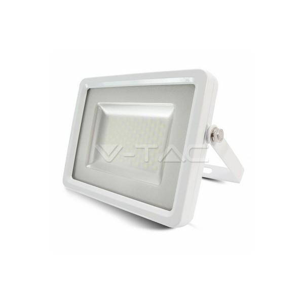 100W LED Прожектор SMD High Lumen 12000LM Бяло Тяло Бяла Светлина