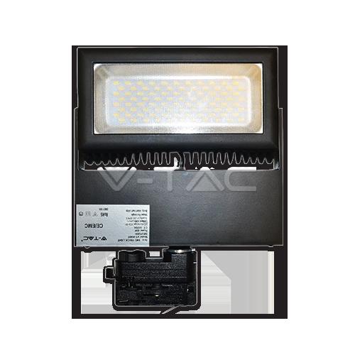 48W LED Прожектор Релсов Монтаж Бяла Светлина