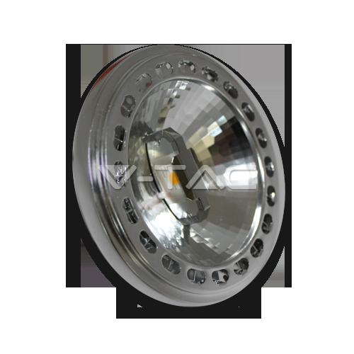 LED Крушка - AR111 15W 230V 20Градуса COB Chip Димираща