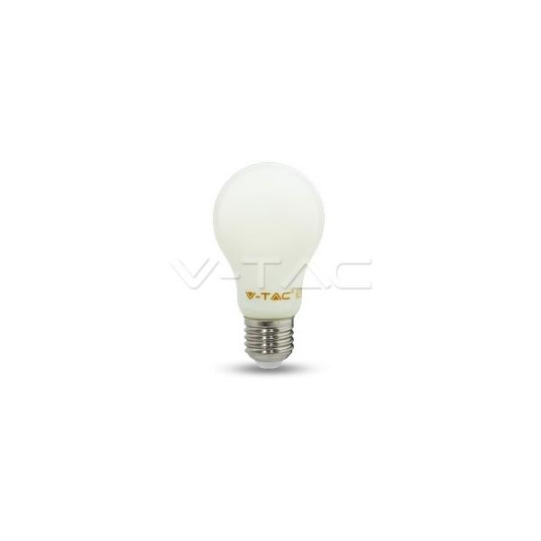 LED Крушка - 4W Filament E27 A60 Бяло Покритие