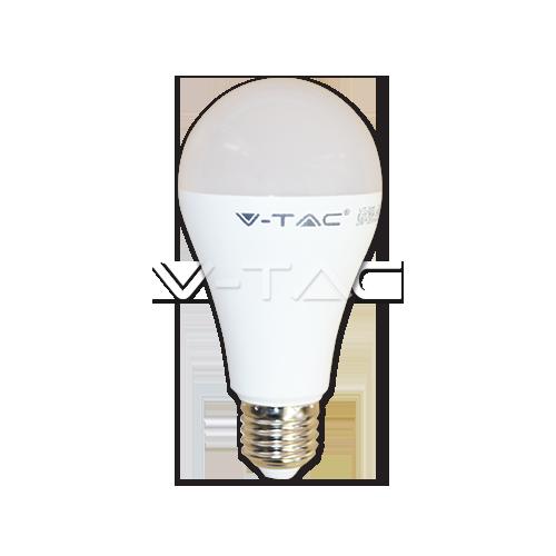 LED Крушка - 15W E27 A65 Термо Пластик