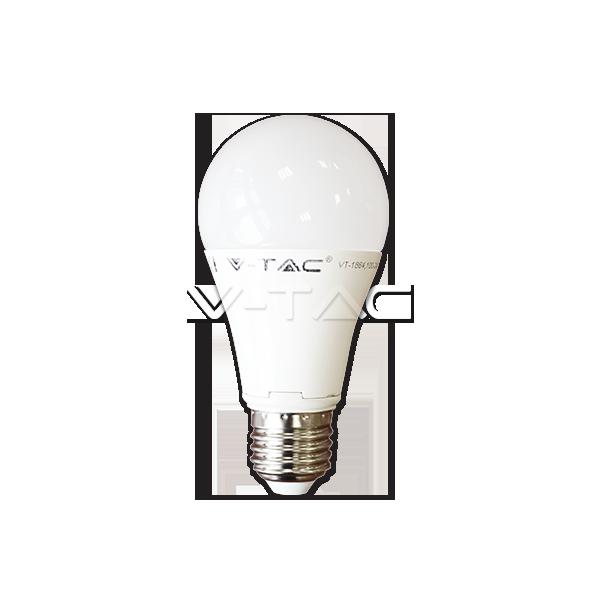 LED Крушка - 12W E27 A60 Термо Пластик
