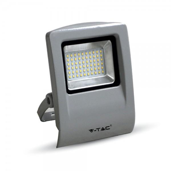30W LED Прожектор SMD Сиво Тяло SMD Топло Бяла Светлина
