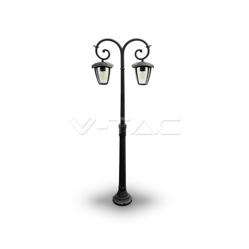 Градиснки Лампа 2ХE27 1410мм Черен IP44