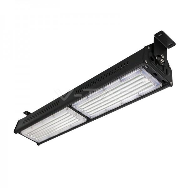 100W LED Линеен Индустриален Осветител Черно Тяло Неутрална Светлина