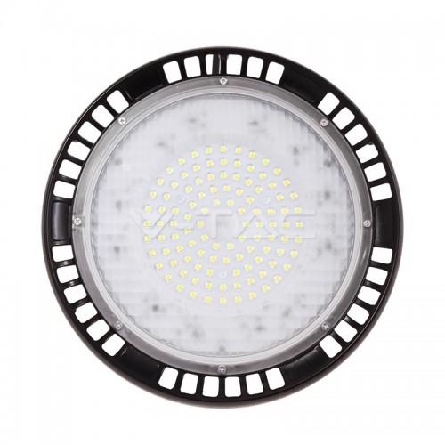 100W LED Камбана UFO A++ Meanwell Бяла Светлина 5 год. Гаранция 90°
