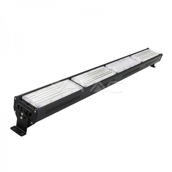 200W LED Линеен Индустриален Осветител Черно Тяло Неутрална Светлина