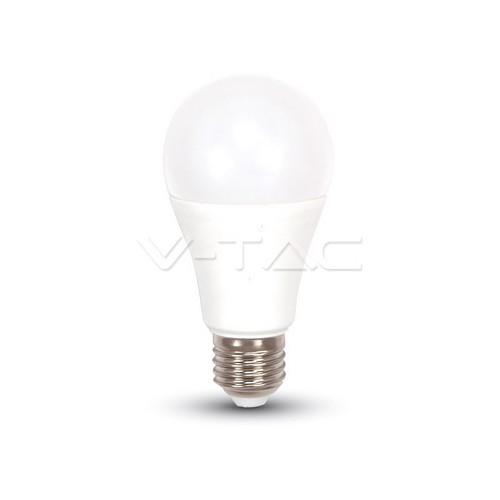 LED Крушка - 9W E27 A60 Термо Пластик 3Степенно Димиране