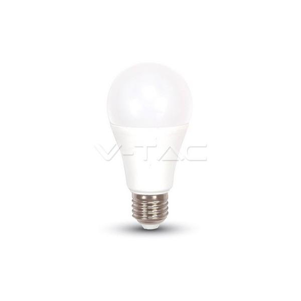 LED Крушка - 9W E27 A60 Термо Пластик