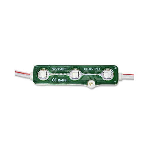 LED Модул 3LED SMD5050 Green IP67