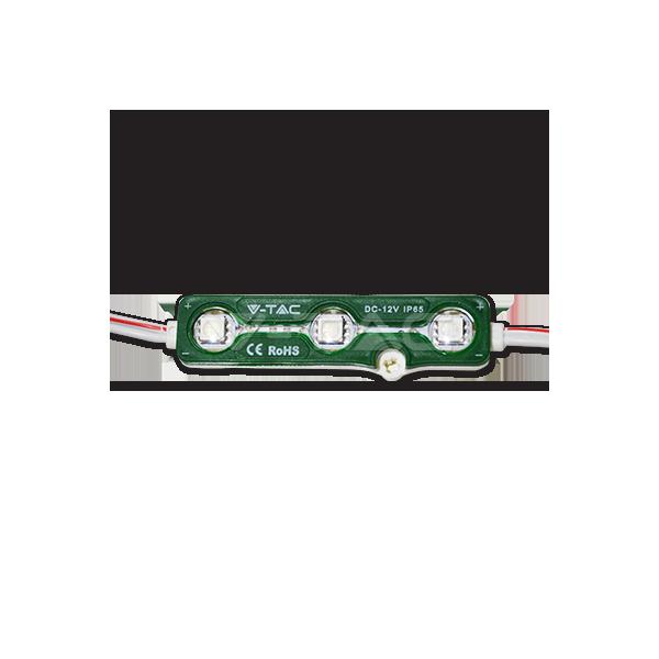 LED Модул 3LED SMD5050 Green IP67