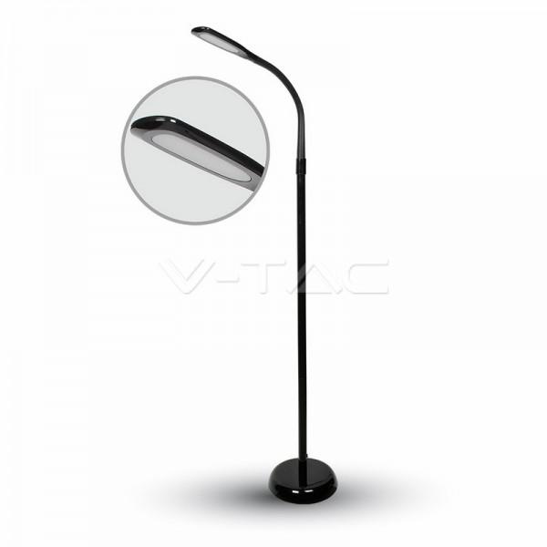 7W LED Лампион Неутрално Бяла Светлина Черно Тяло