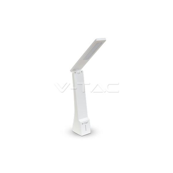 4W LED Настолна Лампа Бяло + Златно