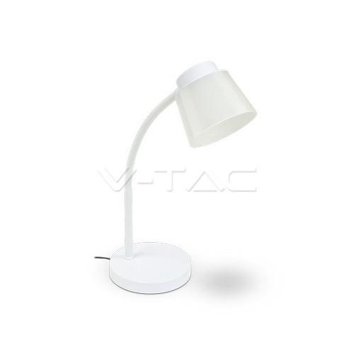 5W LED Настолна Лампа 4000К Бяло Тяло