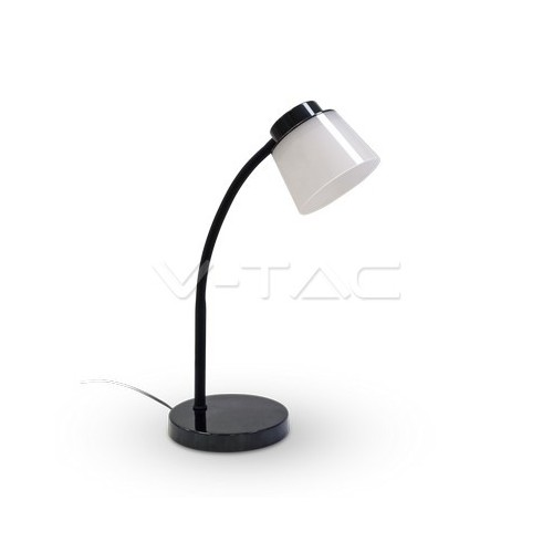 5W LED Настолна Лампа 4000К Черно Тяло
