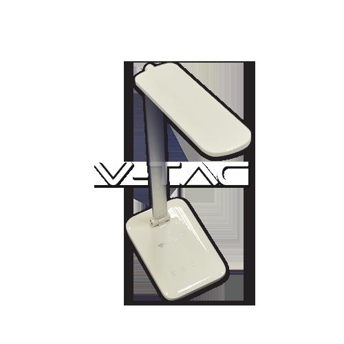 7W LED Настолна Лампа 3 в 1 Димируема Бяло Тяло