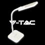 7W LED Настолна Лампа Димируема Бяла Светлина Синьо Тяло