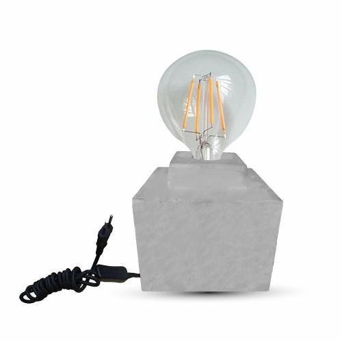 Настолна Лампа Бетон ф160
